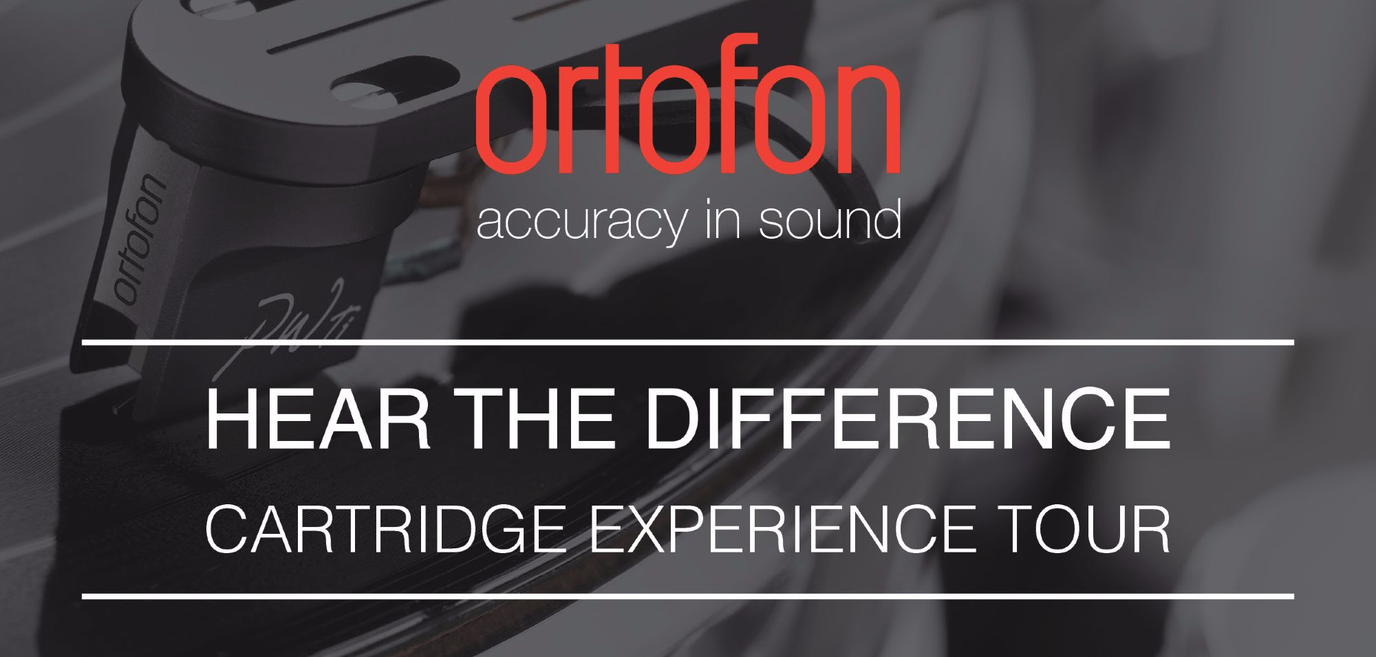 Open Day Ortofon -  The Cartridge Experience Tour - Saturday 13th July